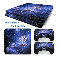 Hzjundasi 637# Body Sticker Decal Skin ステッカーデカールスキン For Playstation 4 PS4 Slim Console+Controllers