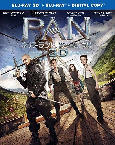PAN~ネバーランド、夢のはじまり~ 3D & 2D ブルーレイセット(初回仕様/2枚組/デジタルコピー付) [Blu-ray]