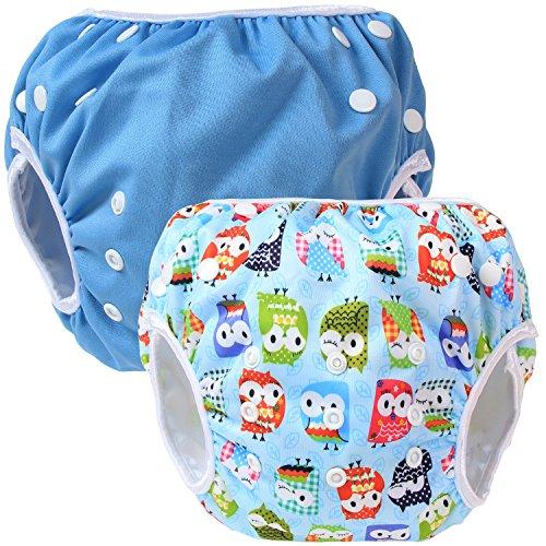 Teamoy 水遊びパンツ 2点セット 0-3歳 赤ちゃん用...