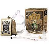 Home Brewing Kit for Beer – Craft A Brew Bone Dry Irish Stout Beer Kit – Reusable Make Your Own Beer Kit – Starter Set 1 Gall
