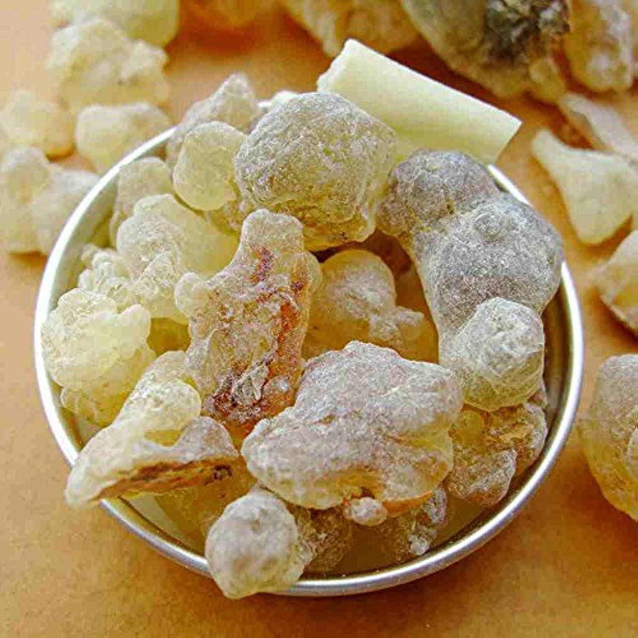 後方にダーリン負荷フランキンセンス 100%純オーガニック乳香樹脂/塊 オマーン Oman Frankincense 50 gram