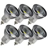 LED スポットライト 5W LED電球 E11口金 調光対応 LED ビーム角90° PSE認証済 3年保証(6個入り、電球色)
