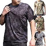 (ガンフリーク) GUN FREAK 迷彩柄 半袖 Tシャツ タクティカル ストレッチ メッシュ サバゲー
