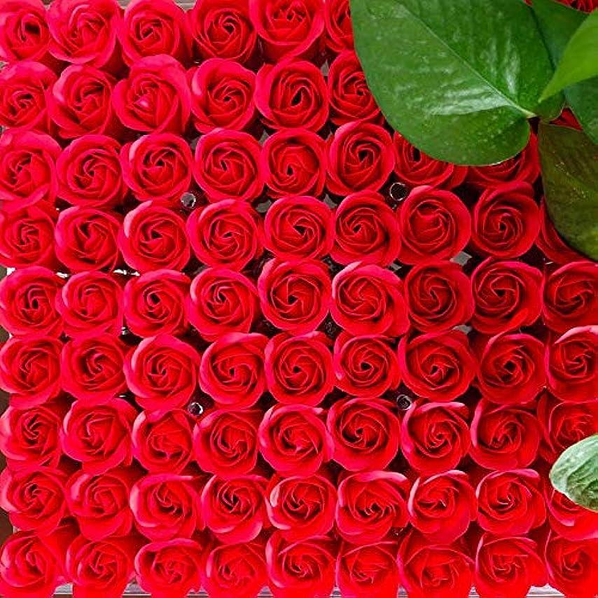 電話するバースト匿名81PCS DIY ボディソープ バラ ローズ 洗濯用 フラワーソープ 良い香り 三層 贈り物 結婚披露宴 バレンタインデーギフト 石鹸の花+ボックス