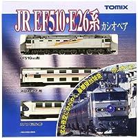 TOMIX Nゲージ EF510 E26系 カシオペア 基本セット 92408 鉄道模型 客車