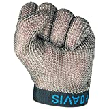 HBZY 5本指のスチール手袋、ナイフカットの保護手袋、屠殺場の保護用鉄手袋、チェーンソー釣りに適した、S/M/L 手袋 (サイズ さいず : S s)