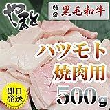 特選松阪牛専門店やまと 黒毛和牛 ハツモト < 焼肉用 > 500g (5名様用)