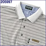 半袖 ポロシャツ ラッピング対応可能(有料) 襟元の冷感テープと消臭テープが夏も爽やか 「父の日」「誕生日」のプレゼントや贈り物に最適 メンズ 16種類から選べます 205997.グレー M(165-175)/胸囲88-96cm