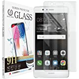 Huawei P9 lite 透明 ガラスフィルム 【貼付け失敗時 無料再送】 硬度9H 高透過 指紋防止 気泡防止 強化ガラス 液晶保護フィルム 【BELLEMOND】P9 lite GCL