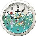 リズム時計工業(Rhythm) 置き時計 掛け時計 ホワイト φ28.0×4.2cm 8MG804MC05