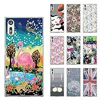 ScoLar スカラー デザイン Xperia XZ(XZs) SO-01J(03J)、SOV34(35)、601SO(602)機種専用スマホケース 50029 カバー ハードケース iPhone Xperia AQUOS Galaxy ARROWSスカラコ シンプルデニム かわいい ファッションブランド