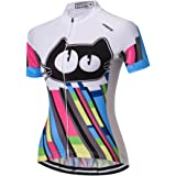 Weimostar Women Cycling Jersey Short Sleeve Bike Bicycle Clothing Shirt