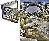 ラコステ フォトジグソーパズルof this is aローマ橋、と呼ばれるPont・ジュリアンの町の近くLacoste