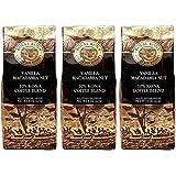 (ロイヤルコナコーヒー) バニラ マカダミアナッツ フレーバー コナブレンド コーヒー 227g×3パック (粉)