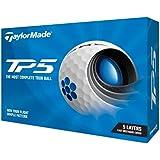 TAYLOR MADE(テーラーメイド) TP5(ティーピーファイブ) ゴルフボール 5ピース 2021年モデル N0802601 ホワイト