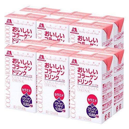 森永製菓 おいしいコラーゲンドリンク ピーチ味 125mL×12本