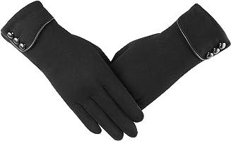 レディース スマホ タッチパネル対応 防寒 手袋 グローブ 裏起毛 冬 保温 ファッション 手袋 自転車 バイク アウトドア 通勤 通学