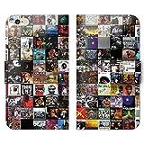 ミューシ?ック2 手帳型 iPhone8 (4.7) iPhone8 (P003502_01) HIPHOP ジャケット 名盤 アルバム スマホケース アイフォン 各社共通