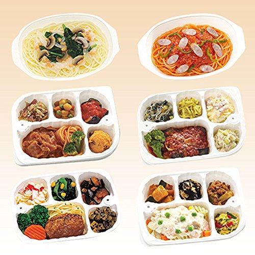 【冷凍】低たんぱくお弁当 いきいき御膳 洋風セット 月(6点セット)