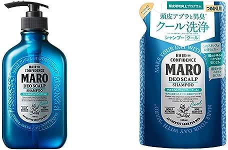 【セット買い】MARO デオスカルプ シャンプー クール 400ml & デオスカルプ シャンプー クール 詰め替え 340ml