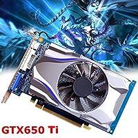 gtx650ti 1GB gddr5128bit HDMIグラフィックスカード5000MHz for Nvidia Geforce
