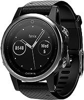 Garmin 010-01685-02 Fenix 5s GPS Watch WW, Silver with Black Band