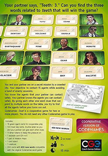 Codenames Duet Board Game