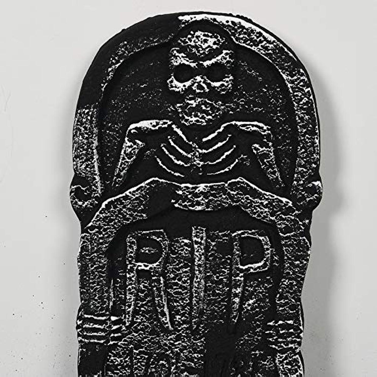 天もっともらしい地区ETRRUU HOME 4ピース三次元墓石ハロウィーン装飾バーお化け屋敷の秘密の部屋怖い装飾パーティー雰囲気レイアウト小道具