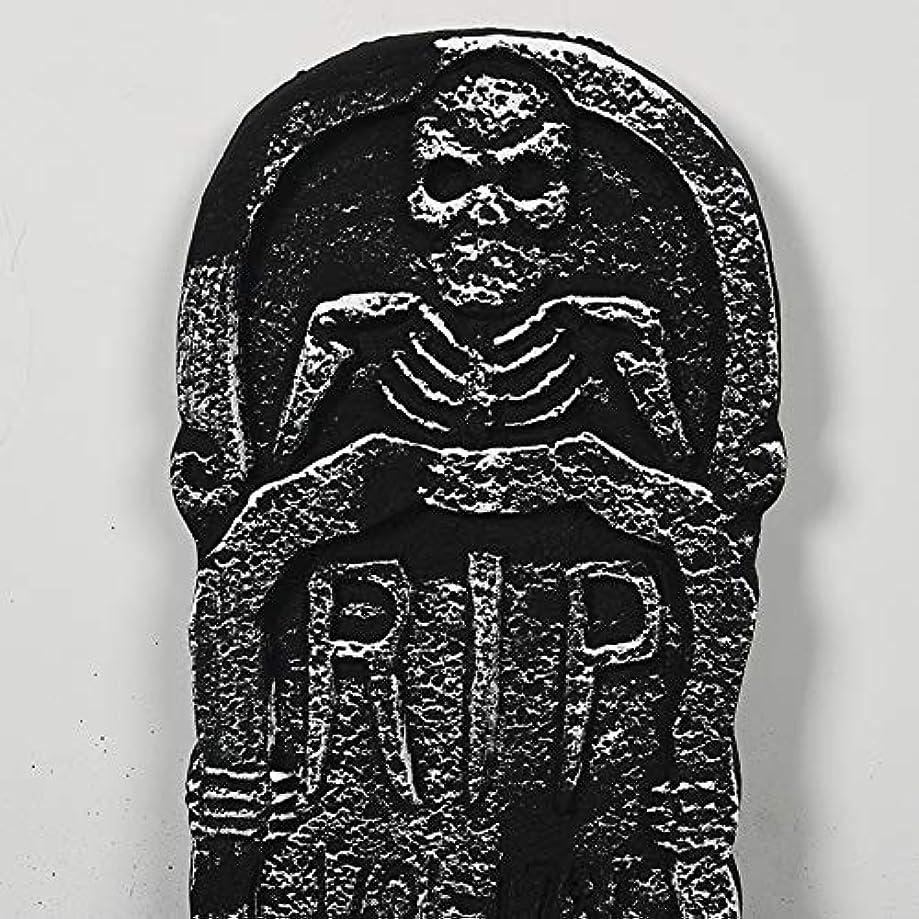 肺無し管理者ETRRUU HOME 4ピース三次元墓石ハロウィーン装飾バーお化け屋敷の秘密の部屋怖い装飾パーティー雰囲気レイアウト小道具