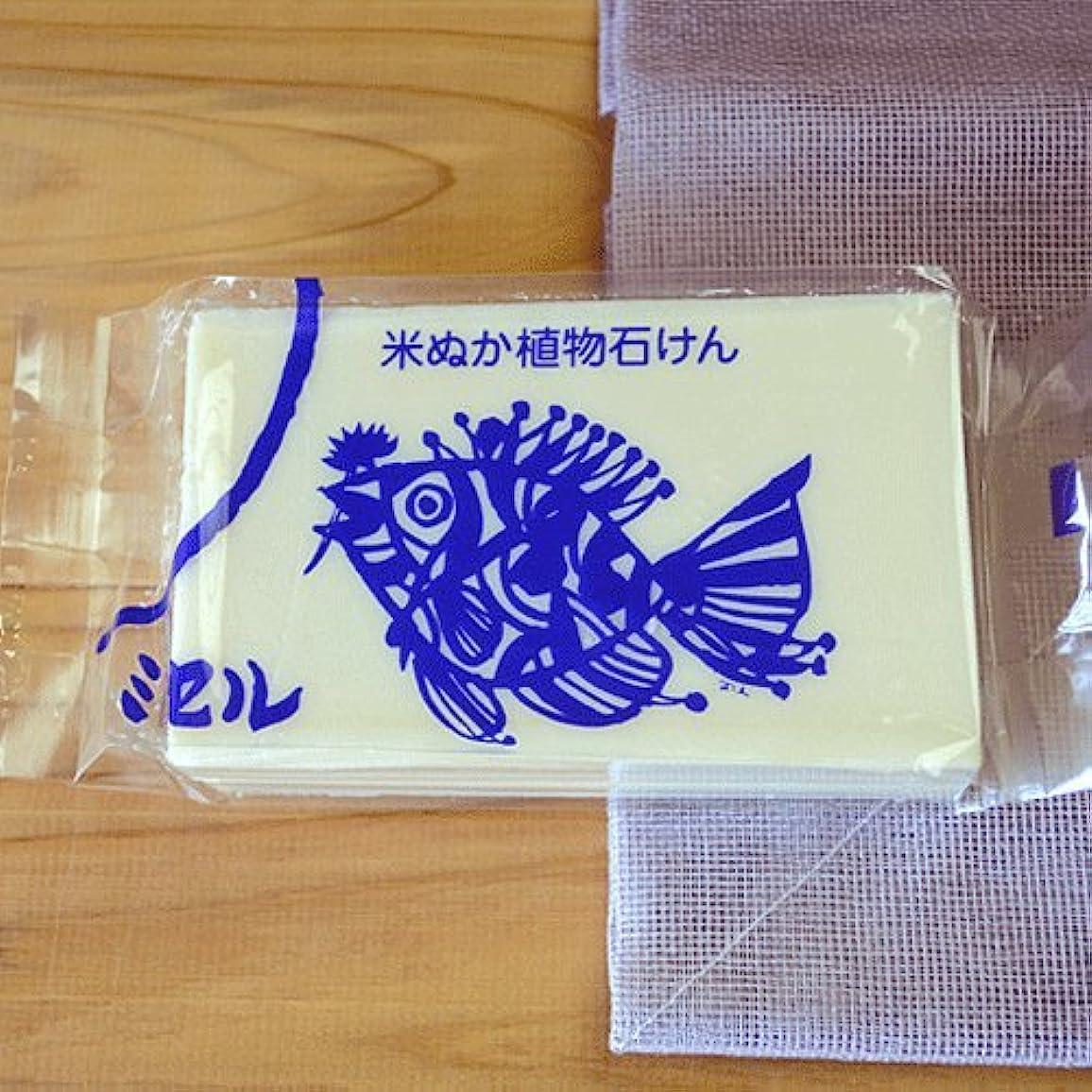 立法普通に冷酷なミセル 米ぬか植物石けん