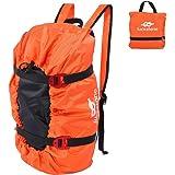 バックパック クライミングバッグ クライミングロープ収納 ロッククライミングバッグ ハイキングバッグ キャンプバッグ アウトドアバッグ
