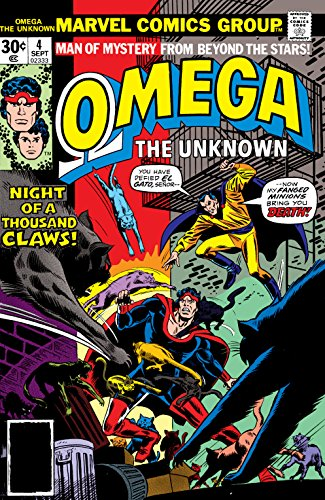 Download Omega: The Unknown (1976-1977) #4 (English Edition) B01MY0ODA7