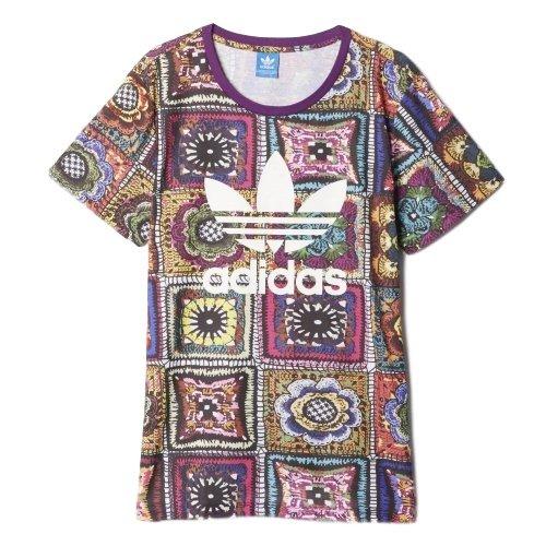 アディダス オリジナルス by The Farm Company Tシャツ CROCHITA TEE