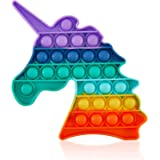 Push Pop Fidget Sensory Toy Autism Special Needs Stress Reliever, Squeeze Sensory Toy Great for The Old and The Young