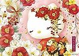 108ピース ジグソーパズル ハローキティの椿乙女(18.2x25.7cm)