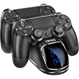 DOBE PS4 Controller Charger, Dual Shock 4 Controller Charging Docking Station with LED Light Indicators for PS4/ PS4 Slim/ PS