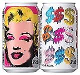 キリンラガービール アンディ・ウォーホル デザインパッケージ3 350ml×6本×4セット(24本)