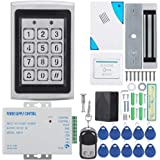 Door Access Control Machine, Electric Magnetic Door Lock Access Control Card Password Door Security System Kit, Door Entry Sy