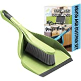 Guay Clean Brush and Dustpan Set - Heavy Duty Cleaning Tool Kit - Collects Dust Dirt Debris - Small and Lightweight for Home