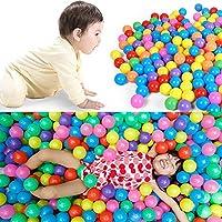 ohtop Pitボール、1pc 5.6 CMカラフルなソフトプラスチック海洋ボールベビーキッドFun Swim Toy