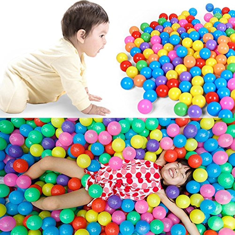 ohtop 100個7 cmカラフルなソフトプラスチック海洋ボールベビーキッドFun Swim Toy