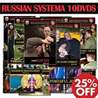 MARTIAL ARTS TRAINING VIDEOS - 10 DVD SET - Street Self-Defense DVDs by Russian Systema Spetsnaz. Russian Hand to Hand Combat Instructional DVDs of Best Fighting Techniques to Train at Home
