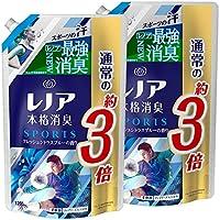 【まとめ買い】 レノア 本格消臭 柔軟剤 スポーツ フレッシュシトラスブルー 詰め替え 超特大 1260mL×2個