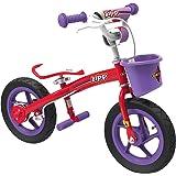 Eurotrike 2-in-1 Zipp Balance & Pedal Bike - Pink
