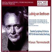 テンシュテット指揮 ベートーヴェン:交響曲第1,2,3番
