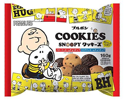 ブルボン クッキーズFS(スヌーピー) 160g