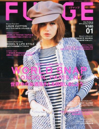 FUDGE (ファッジ) 2014年 01月号 [雑誌]の詳細を見る