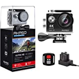 AKASO EK7000 4K WiFi Sports Action Camera Ultra HD 12MP Waterproof DV Camcorder 170 Degree Wide Angle 2 Inch LCD Screen w/ 2.