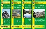 Naturpark Soonwald-Nahe Blatt SN 01 - 04. 1 : 25 000: Kirchberg (Hunsrueck), Simmern (Hunsrueck), Kirn, Binger Wald, Stromberg, Rheinboellen, Bad Kreuznach, Langenlonsheim, Bad Muenster am Stein-Ebernburg, Bad Sobernheim, Ruedesheim (WR)