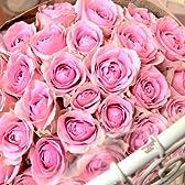 〔エルフルール〕バラの花束 20本 カラー:ピンク 結婚記念日 プレゼント 薔薇 誕生日祝い 贈り物 母の日 花 ギフト